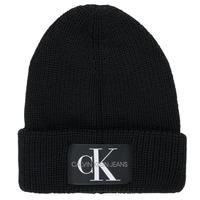 Accessorie Men hats Calvin Klein Jeans MONOGRAM BEANIE WL Black