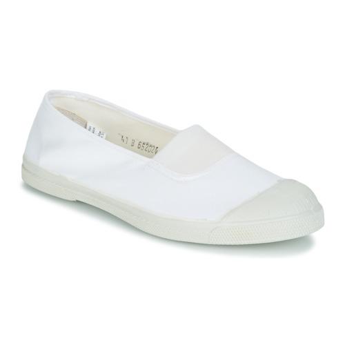 Shoes Women Low top trainers Bensimon TENNIS ELASTIQUE White