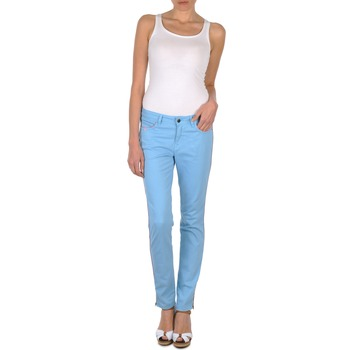 material Women 5-pocket trousers Brigitte Bardot AUBE Blue