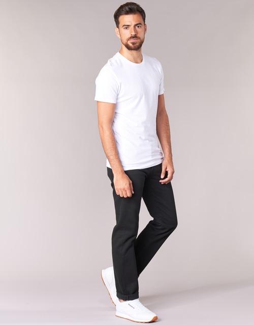 material Men straight jeans Levi's 501 LEVIS ORIGINAL FIT  black / 80701