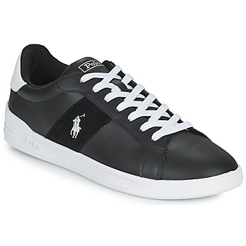 Shoes Low top trainers Polo Ralph Lauren HERITAGE COURT Black