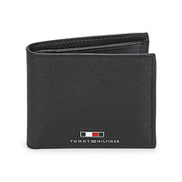 Bags Men Wallets Tommy Hilfiger BUSINESS EXTRA CC AND COIN Black