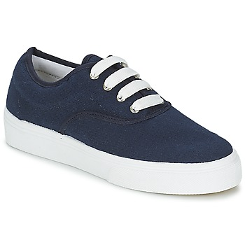 Shoes Women Low top trainers Yurban PLUO Marine