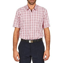 short-sleeved shirts Pierre Cardin CH MC CARREAU GRAPHIQUE