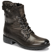 Shoes Women Mid boots Dream in Green NELATINE Grey