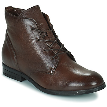 Shoes Women Mid boots Dream in Green NERGLISSE Brown