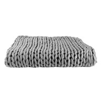 Home Blankets, throws The home deco factory CHUNKY Grey