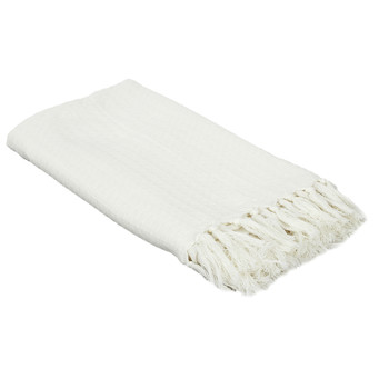 Home Blankets, throws The home deco factory GALICE Ivory