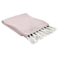 Home Blankets, throws The home deco factory SOPHIE White-pink / Pale