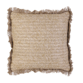 Home Cushions The home deco factory RAPHIA Beige / Gold