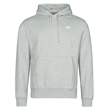 material Men sweaters Nike NIKE SPORTSWEAR CLUB FLEECE Grey / White
