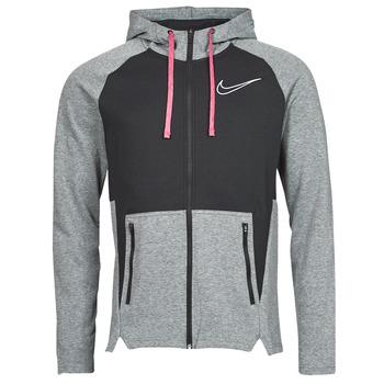 material Men sweaters Nike M NK TF HD FZ NVLTY Black / White