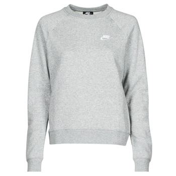 material Women sweaters Nike NIKE SPORTSWEAR ESSENTIAL Grey / White