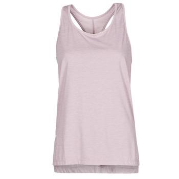 material Women Tops / Sleeveless T-shirts Nike NIKE YOGA Violet