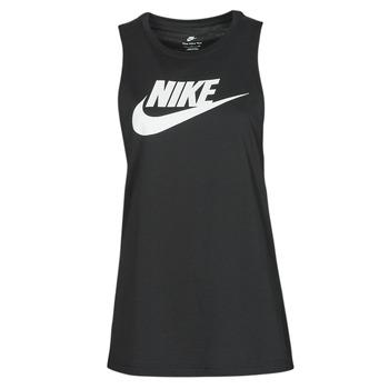 material Women Tops / Sleeveless T-shirts Nike NIKE SPORTSWEAR Black / White