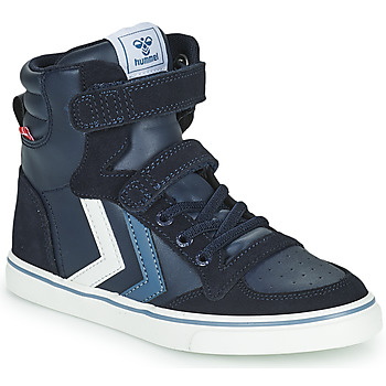 Shoes Children High top trainers Hummel SLIMMER STADIL JR Blue
