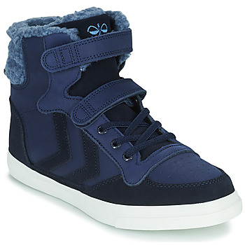 Shoes Children High top trainers Hummel STADIL WINTER HIGH JR Blue