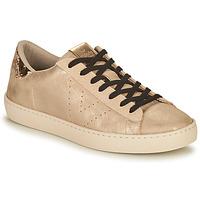 Shoes Women Low top trainers Victoria BERLIN METAL Beige