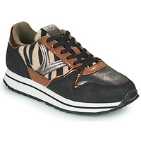 Shoes Women Low top trainers Victoria COMETA MULTI Black / Brown