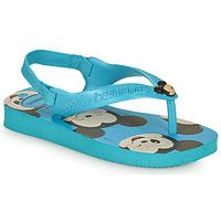 Shoes Boy Flip flops Havaianas BABY DISNEY CLASSICS II Blue