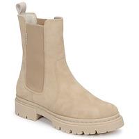 Shoes Women Mid boots Bullboxer 610507E6CAALMD Beige