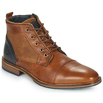 Shoes Men Mid boots Bullboxer BENN Brown