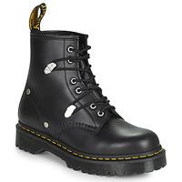 Shoes Women Mid boots Dr Martens 1460 BEX STUD Black