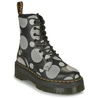 Shoes Women Mid boots Dr Martens JADON White / Grey