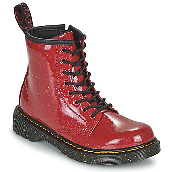 Shoes Girl Mid boots Dr Martens 1460 J Red