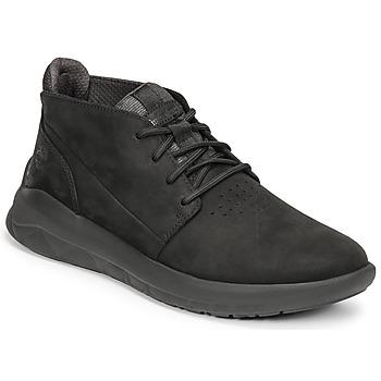 Shoes Men High top trainers Timberland BRADSTREET ULTRA PT CHK Black