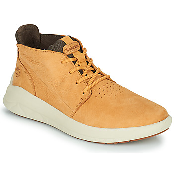 Shoes Men High top trainers Timberland BRADSTREET ULTRA PT CHK Beige
