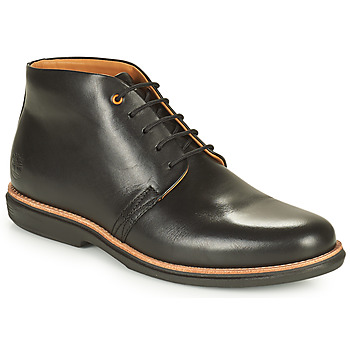 Shoes Men Mid boots Timberland CITY GROOVE CHUKKA Black