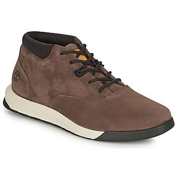 Shoes Men High top trainers Timberland NITE FLEX CHUKKA 2 Brown