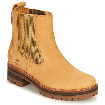 Shoes Women Mid boots Timberland COURMAYEUR VALLEY CHELSEA Wheat