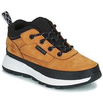 Shoes Children High top trainers Timberland FIELD TREKKER LOW Wheat