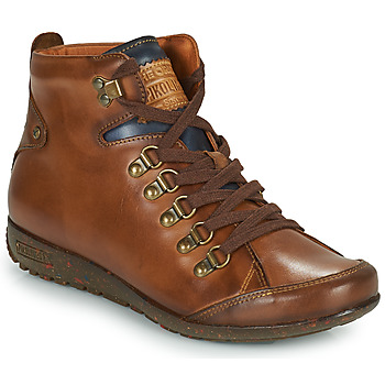 Shoes Women High top trainers Pikolinos LISBOA Brown