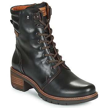 Shoes Women Ankle boots Pikolinos SAN SEBASTIA Black