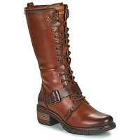 Shoes Women Boots Pikolinos SAN SEBASTIA Brown