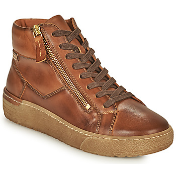 Shoes Women High top trainers Pikolinos VITORIA Brown