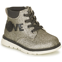 Shoes Girl Mid boots Chicco FLORINA Silver