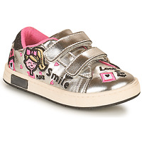 Shoes Girl Low top trainers Chicco CALLI Silver