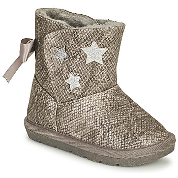 Shoes Girl Boots Chicco CLOVY Silver
