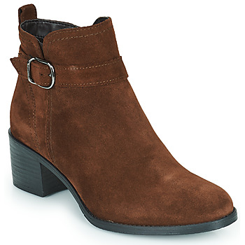 Shoes Women Ankle boots Tamaris OFFICIE Brown