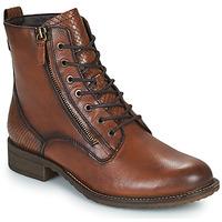 Shoes Women Mid boots Tamaris PEPIR Brown