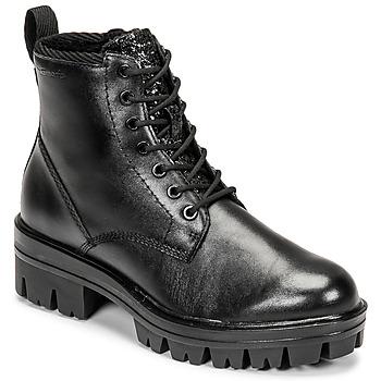 Shoes Women Mid boots Tamaris HOULI Black