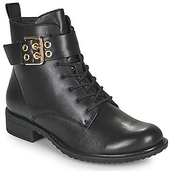 Shoes Women Mid boots Tamaris MOULIB Black