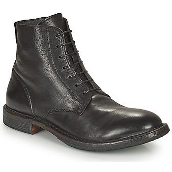 Shoes Men Mid boots Moma MINSK Black