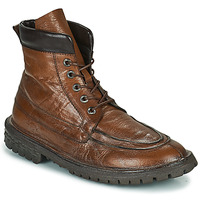 Shoes Men Mid boots Moma COMBAT Brown