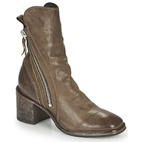 Shoes Women Mid boots Moma NANINI Brown