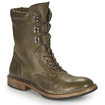 Shoes Women Mid boots Moma MINSK Kaki